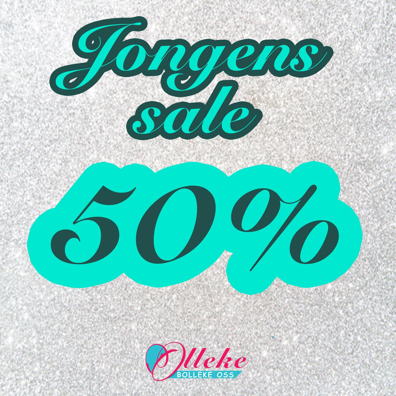 jongens sale 50%